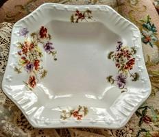 Antik porcelán pogácsás tál