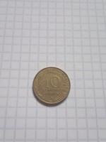 10 Centimes Franciaország 1974 !