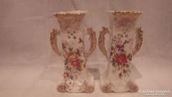 KARLSBAD porcelán váza pár