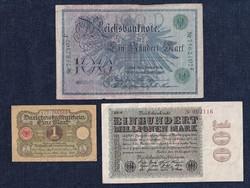 3 db német márka/id 6352/