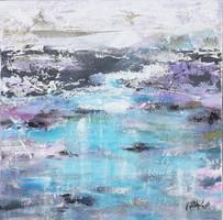 """""""Távolság"""" szignózott eredeti absztrakt festmény Közvetlen a művésztől!"""