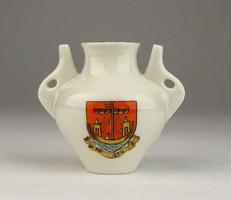 0V333 Antik W.H.GOSS Folkestone porcelán váza
