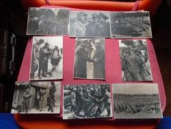 41  darabból álló II. vhs. birodalmi fotó gyűjtemény