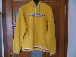 Lotto sárga kapucnis pulóver