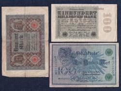 3 db német márka/id 6350/