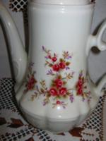 Gyönyörű rózsás Bavaria teás kávés kanna