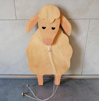 Húsvéti dekoráció, bólogató bárányka