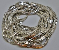 Különleges régi ritka 200cm/2m hosszú ezüst nyaklánc