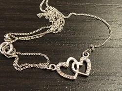 Nagyon szép ezüst medál ezüst nyaklánccal