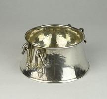 0T569 Antik 800-as ezüst Kenedy szószos tálka 170g