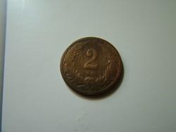2 fillér 1897