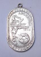 Argentína 1978 futball VB medál.