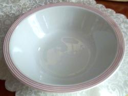 Porcelán köretes, pogácsás, leveses tál