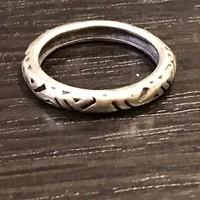 Nagyon szép ezüst gyűrű 18mm átmérő