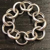 Nagyon szép ezüst gyűrű 19mm átmérő