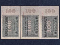 3 db német 100 millió márka 1923/id 6495/