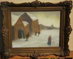 Ismeretlen (20.sz.eleje) : Hideg tél