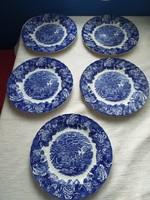 Antik Woods Ware lapos tányérok