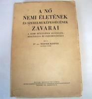 Kemper: A nő nemi életének és szerelmi képességének zavarai, 1944(?)