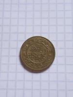Szép 20 Millimes Tunézia 1983  !!