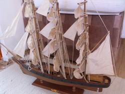 Cutty Sark hajó  makett