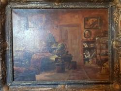 Gyertyányi Németh Gyula festmény