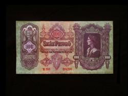 100 PENGŐS - REMEK (T/II) TARTÁSBAN - 1930