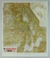 0V422 SZÉKELYFÖLD térkép M.KIR. HONVÉD TÉRKÉPÉSZET