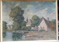 Eladó Kabay festmény