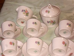Régi szép kávés csészék hollóházi