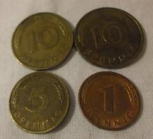 Német pénz - érme, 1981 (NSZK, Pfennig)