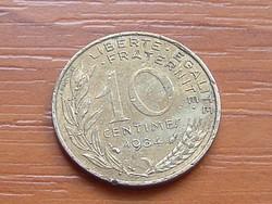 FRANCIA 10 CENTIMES 1984