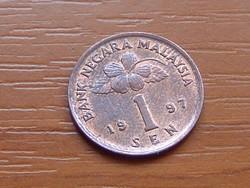 MALAYSIA 1 SEN 1997
