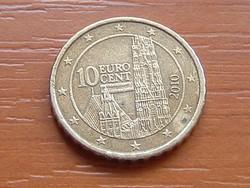 AUSZTRIA OSZTRÁK 10 EURO CENT 2010