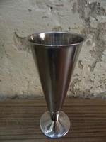 Skandináv retro /design fém váza
