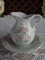 Porcelán asztali kézmosó , mosdószett  Japán