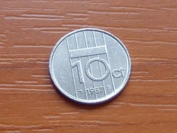 HOLLANDIA 10 CENT 1987