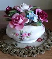 Royal Albert rózsa csokor vázában 10 x 11 cm