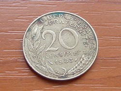 FRANCIA 20 CENTIMES 1983