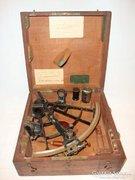 Antik Ponthus&Therrode sextant szextáns navigációs