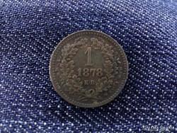 1 krajcár 1878R!