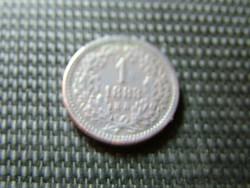1 krajcár 1883