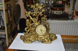 Réz figurális asztali óra