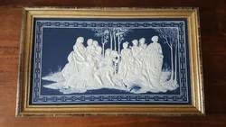 Raffaello:Parnass porcelán kép  1979