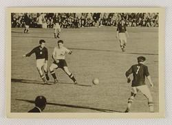 0V436 Osztrák-magyar labdarúgó mérkőzés képeslap