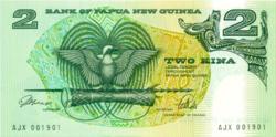 Pápua Új-Guinea 2 Kina 1989 UNC