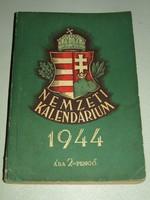 VILÁGHÁBORÚS NEMZETI KALENDÁRIUM 1944.