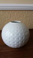 Arzberg hófehér gömb-váza