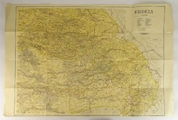 0V508 Erdély térkép Kókai Lajos 1943