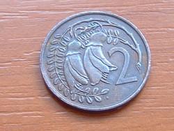 ÚJ-ZÉLAND NEW ZEALAND 2 CENT 1977
